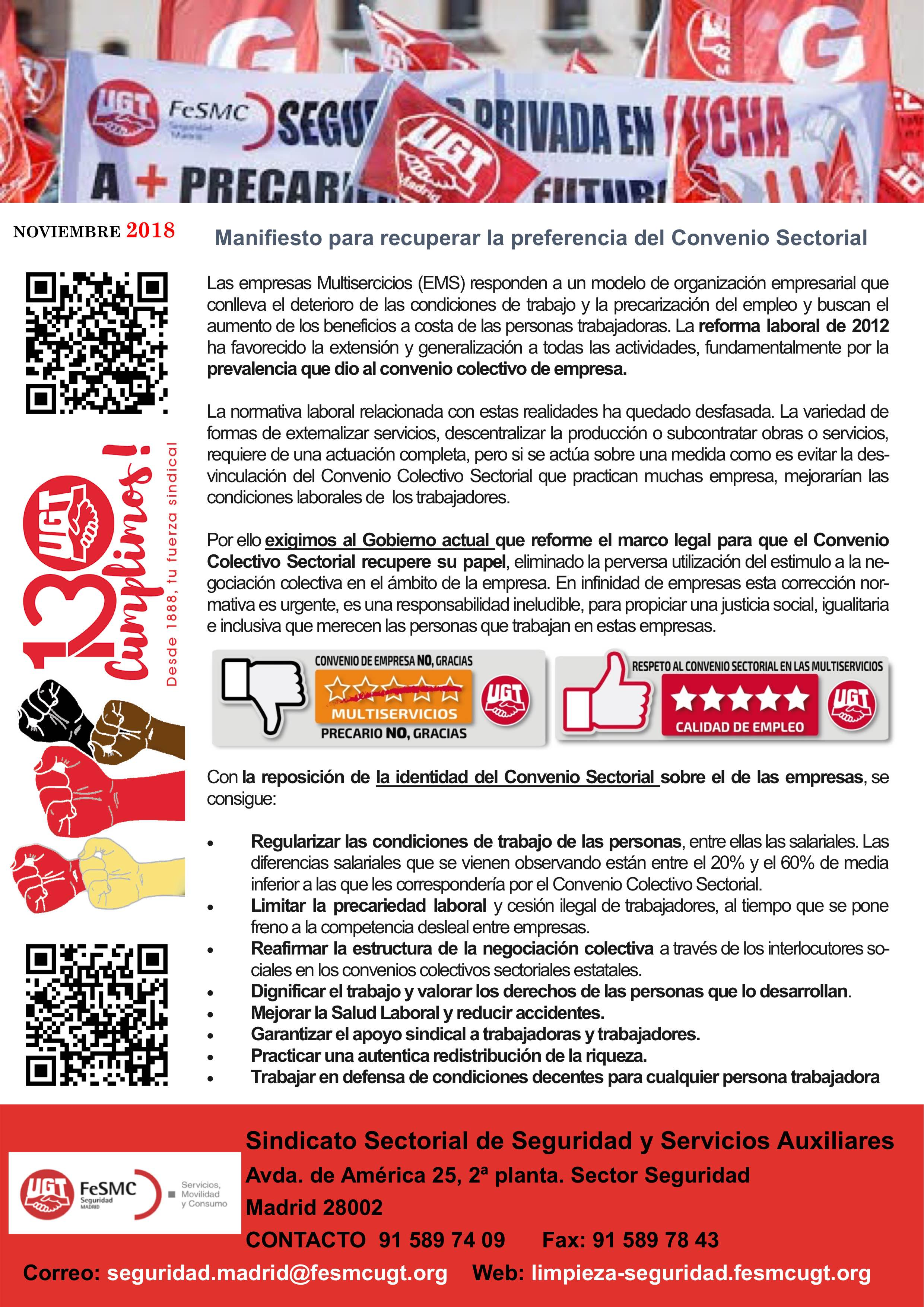 Revista Sindicato Seguridad FeSMC UGT Madrid Nov-dic 2018