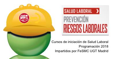 Calendario Laboral Madrid 2020 Ugt.Calendario De 2018 De Cursos Iniciacion De Salud Laboral De