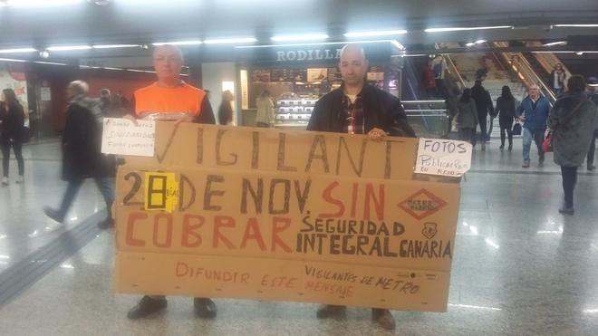 Resultado del Concurso (licitación) contrato de Seguridad privada en Metro de Madrid