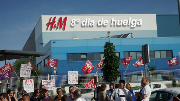 VIDEO | 8º DIA DE HUELGA EN H&M
