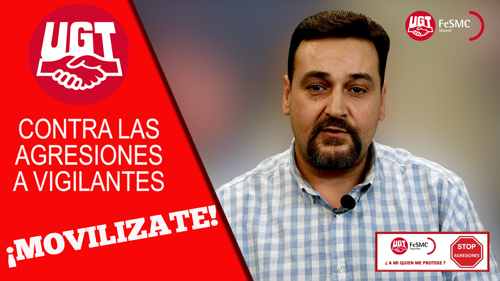 VIDEO | ¡Movilizate! | STOP AGRESIONES A VIGILANTES DE SEGURIDAD
