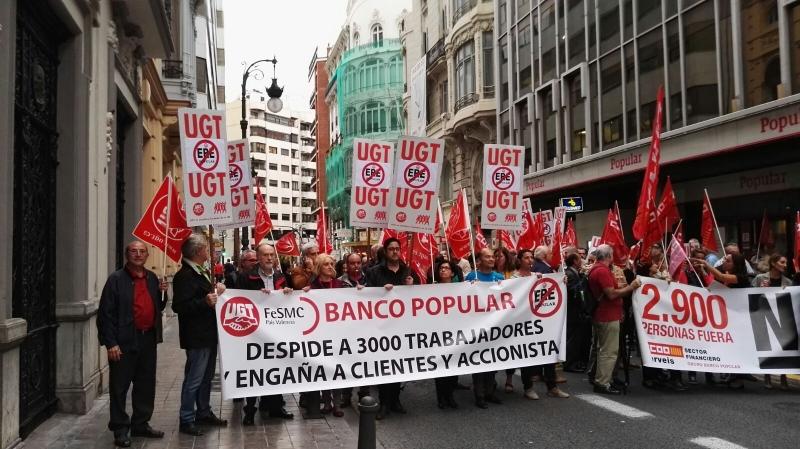 Ugt se ala como causas del hundimiento del banco popular for Oficinas de direct seguros